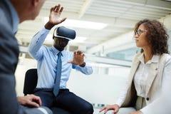 Virtual seminar Stock Images
