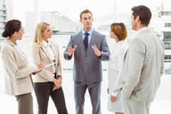 Colleagues in meeting at office Royalty Free Stock Image