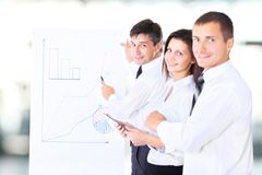 Colleagues during a meeting Stock Photo