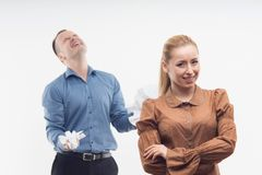 Colleagues relationships Royalty Free Stock Photography