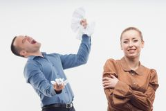 Colleagues relationships Royalty Free Stock Photo