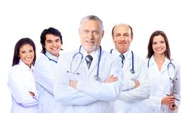 Colleagues standing together Royalty Free Stock Photos
