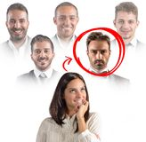 Colleagues at work Stock Photos