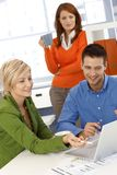 Colleagues working together Royalty Free Stock Photography