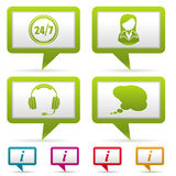 Collect Business Icons Royalty Free Stock Images