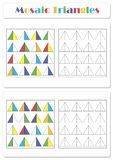 Collect the correct sequence of elements royalty free illustration