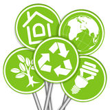 Collect Environment Banner Royalty Free Stock Photography
