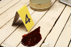 Collect evidence. Scene of a crime, collect evidence royalty free stock photos