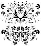 Collect flower border. Element for design, vector illustration Stock Image