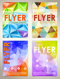 Collect Flyer Design Template Stock Photo