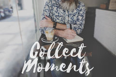 Collect Moments Adventure Enjoyment Explore Concept Stock Photo