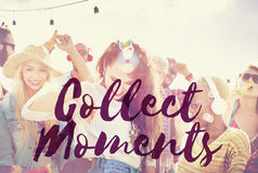Collect Moments Adventure Enjoyment Explore Concept Stock Photography