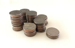 Collect money. For financial freedom Royalty Free Stock Image