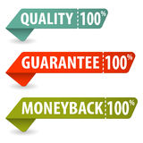 Collect Quality Signs Royalty Free Stock Photos
