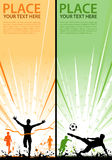 Collect sport flyer Stock Photos