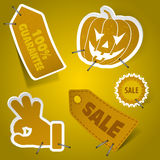Collect Sticker vector illustration