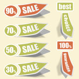 Collect Sticker Royalty Free Stock Photo