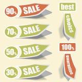 Collect Sticker stock illustration