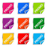 Collect Sticker, element for design,  illust Stock Photo