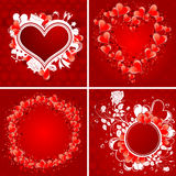 Collect Valentine\\\'s Day Poster Royalty Free Stock Photos