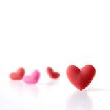 Collecte carrée de Valentine Image libre de droits
