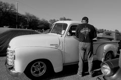 Collecte chevy de salon automobile Photo libre de droits