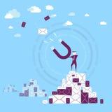 Collecte de données Photo libre de droits