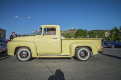 Collecte de F-100 de 1954 Ford Photos stock