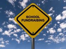 Collecte de fonds d'école photos libres de droits