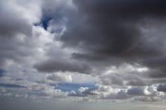 Collecte de nuages de tempête Photographie stock