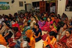 Collecte de passionnés de Krishna Image libre de droits