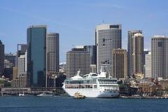 Collecte de quai de port de Sydney Photographie stock