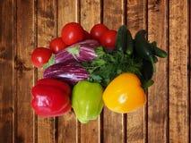 Collecte des légumes Photo stock