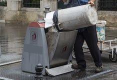 Collecteur de déchets Photos stock
