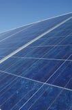 Collecteur de panneau solaire Photo stock