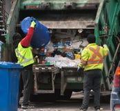 Collecteurs de déchets Photo libre de droits