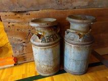 Collectible кувшины молока Стоковые Изображения RF
