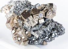 Collectible образец пирротита Стоковые Фото