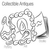 Collectible Antiques Drawing Stock Photos