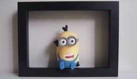 Collectible leksak i ram Fotografering för Bildbyråer