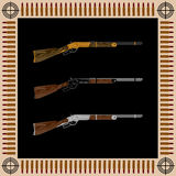 Collectible rifles for real men Royalty Free Stock Images