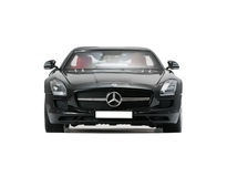 Collectible sport car Mercedes Royalty Free Stock Photos