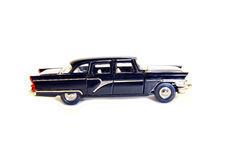 Collectible toy model black car Stock Photos