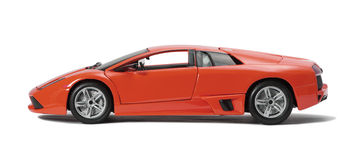 Collectible toy sport car model Stock Photo