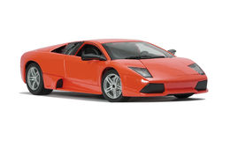 Collectible toy sport car model Royalty Free Stock Image