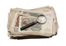 Collectibles铸造钞票奖 免版税库存图片