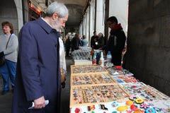 Collectibles che shoping Fotografia Stock