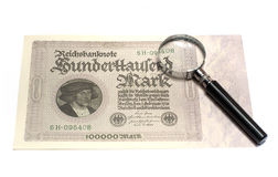 Collectibles Coins Banknotes Awards Royalty Free Stock Photography