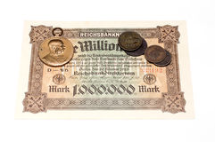 Collectibles Coins Banknotes Awards Stock Images