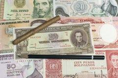 Collectibles Coins Banknotes Awards Royalty Free Stock Image